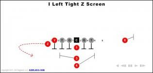 I Left Tight Z Screen