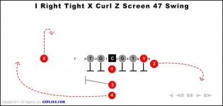 I Right Tight X Curl Z Screen 47 Swing