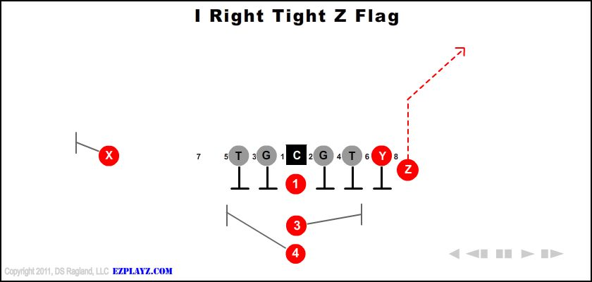I Right Tight Z Flag