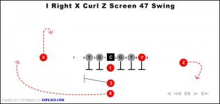 I Right X Curl Z Screen 47 Swing