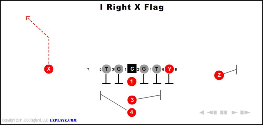 I Right X Flag