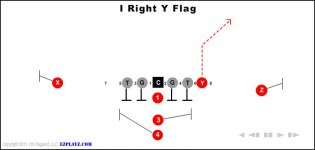 I Right Y Flag