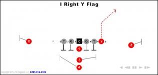 I Right Y Flag