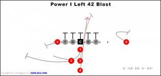 Power I Left 42 Blast