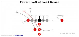 power i left 43 lead smash 315x150 - Power I Left 43 Lead Smash
