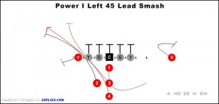 power i left 45 lead smash 315x150 - Power I Left 45 Lead Smash