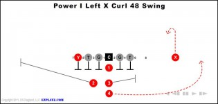 Power I Left X Curl 48 Swing