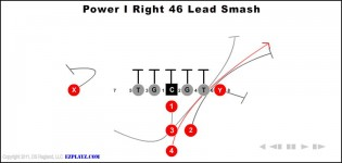 Power I Right 46 Lead Smash