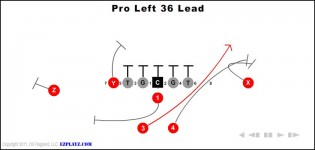 Pro Left 36 Lead