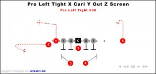 Pro Left Tight X Curl Y Out Z Screen 630