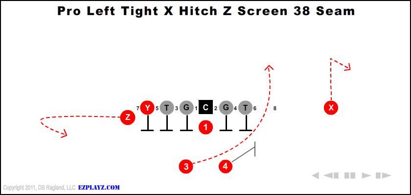 Pro Left Tight X Hitch Z Screen 38 Seam