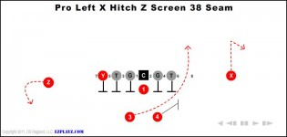 Pro Left X Hitch Z Screen 38 Seam
