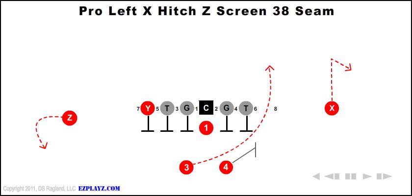 Pro Left X Hitch Z Screen 38 Seam