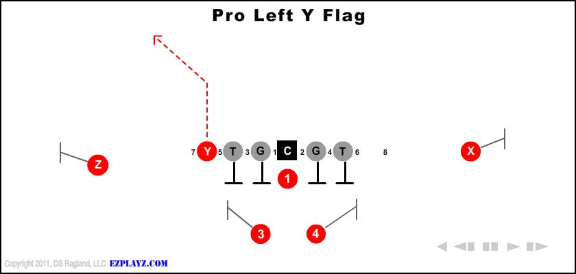 Pro Left Y Flag