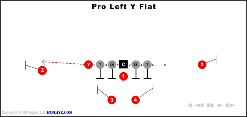 Pro Left Y Flat