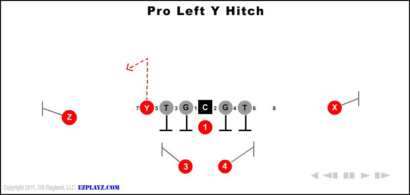 Pro Left Y Hitch
