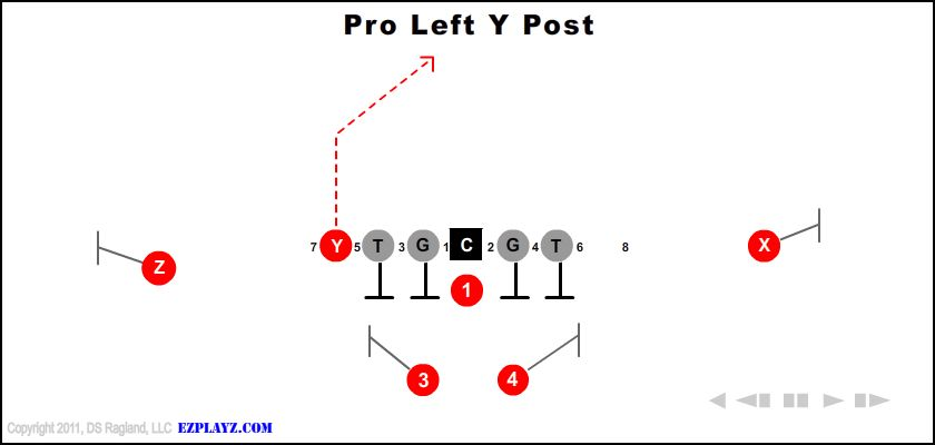 Pro Left Y Post