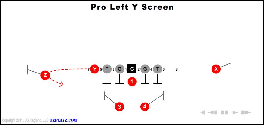 Pro Left Y Screen