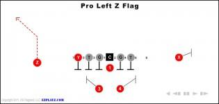 Pro Left Z Flag