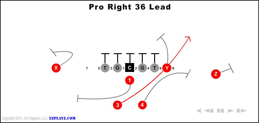 Pro Right 36 Lead