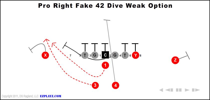 Pro Right Fake 42 Dive Weak Option