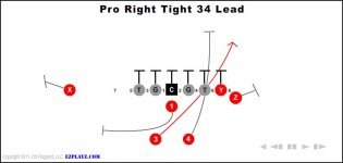 Pro Right Tight 34 Lead