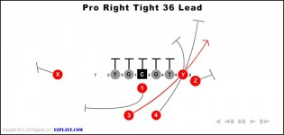 Pro Right Tight 36 Lead