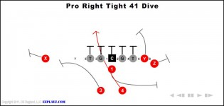 Pro Right Tight 41 Dive