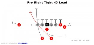 Pro Right Tight 43 Lead