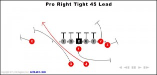 Pro Right Tight 45 Lead