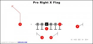 Pro Right X Flag