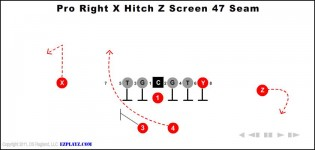Pro Right X Hitch Z Screen 47 Seam