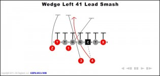 wedge left 41 lead smash 315x150 - Wedge Left 41 Lead Smash