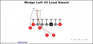 wedge left 43 lead smash 315x150 - Wedge Left 43 Lead Smash