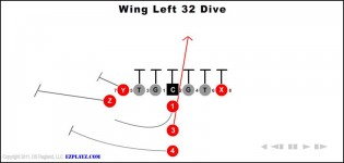 Wing Left 32 Dive