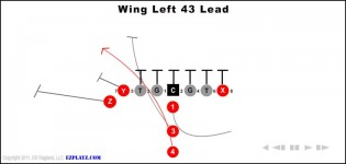 Wing Left 43 Lead