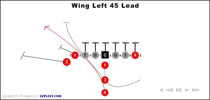 wing left 45 lead - Wing Left 45 Lead
