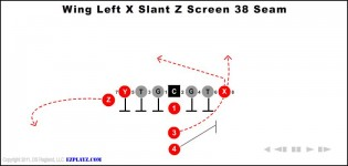 Wing Left X Slant Z Screen 38 Seam
