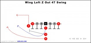 Wing Left Z Out 47 Swing