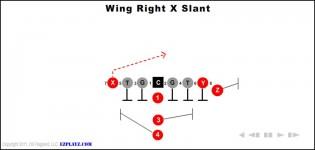 Wing Right X Slant