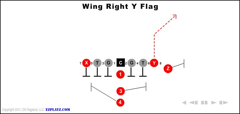 Wing Right Y Flag