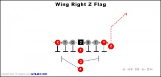 Wing Right Z Flag
