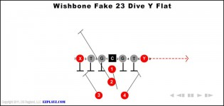 Wishbone Fake 23 Dive Y Flat