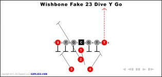 Wishbone Fake 23 Dive Y Go