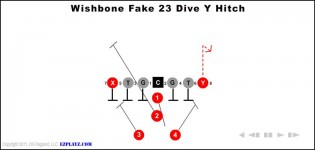 Wishbone Fake 23 Dive Y Hitch