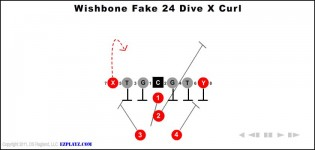 Wishbone Fake 24 Dive X Curl