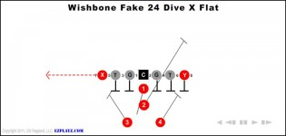 Wishbone Fake 24 Dive X Flat