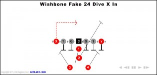 Wishbone Fake 24 Dive X In