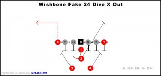 Wishbone Fake 24 Dive X Out
