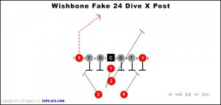 Wishbone Fake 24 Dive X Post